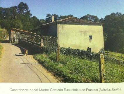 Foto casa donde nacio