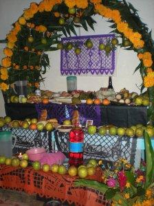 Como cada año, los altares para los difuntos