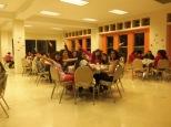 Cena con las jóvenes, festejando el día de la Mujer