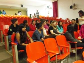 Formación con las jovénes universitarias mes de Febrero
