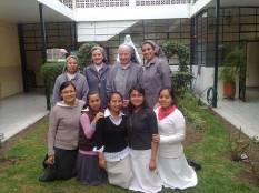 M. Ma Eugenía, visitó a nuestra comunidad para impartir un taller a las Prenovicias
