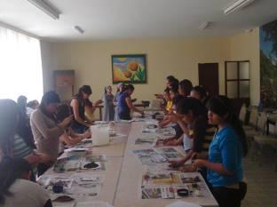 Formación del grupo misionero 2015