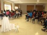 Retiro con jóvenes del Centro Social: terminando trabajo personal
