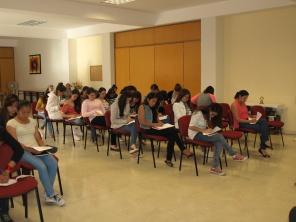 Reflexión personal, Formación de las jóvenes universitarias: tema Pecado- Conversión