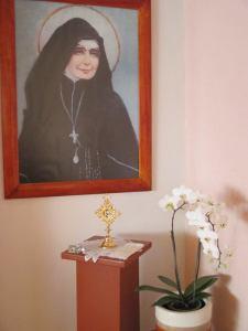 Reliquia Sta Vicenta Ma. Capilla SLP