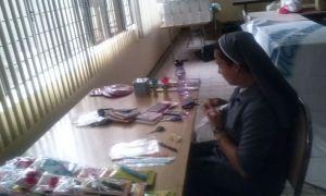 Equipo de pastoral trabajando