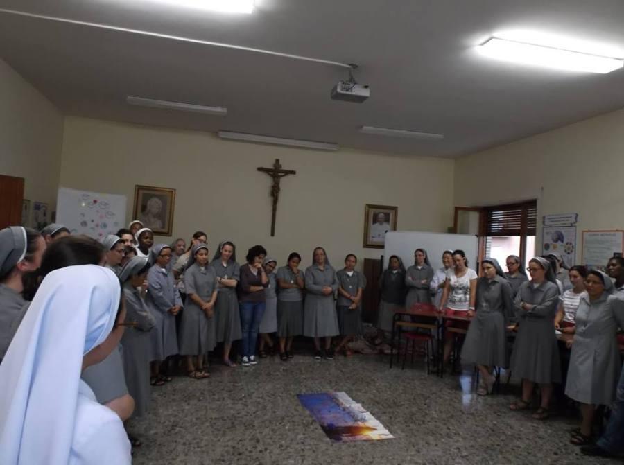 Nuestras hermanas jóvenes en Roma
