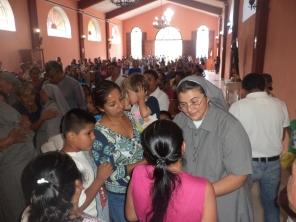 H.Martha Centeno recibió muchas palabras de amor