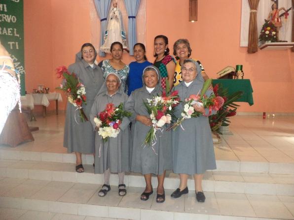 Las RMI de la casa misión y el P. Juan José Herrera, parroco